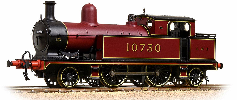 L&YR Class 5 Tank 10730 LMS Crimson Lake (LMS)