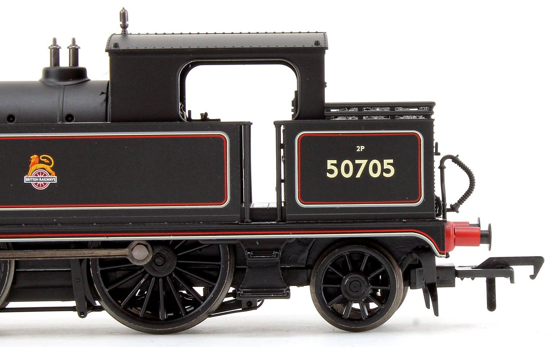 L&YR 2-4-2 Tank 50705 BR Lined Black Early Emblem Locomotive