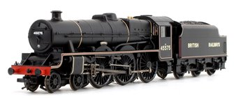 'Madras' British Railways BR Lined Black Jubilee Class 4-6-0 Steam Locomotive No.45575