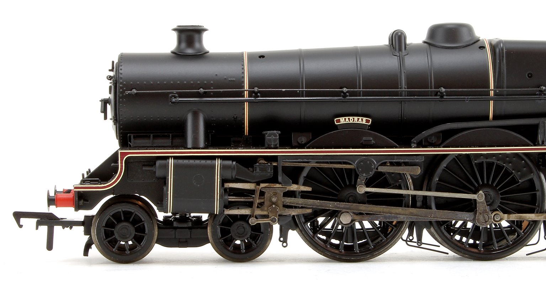 'Madras' British Railways BR Lined Black Jubilee Class 4-6-0 Steam Locomotive No.45575