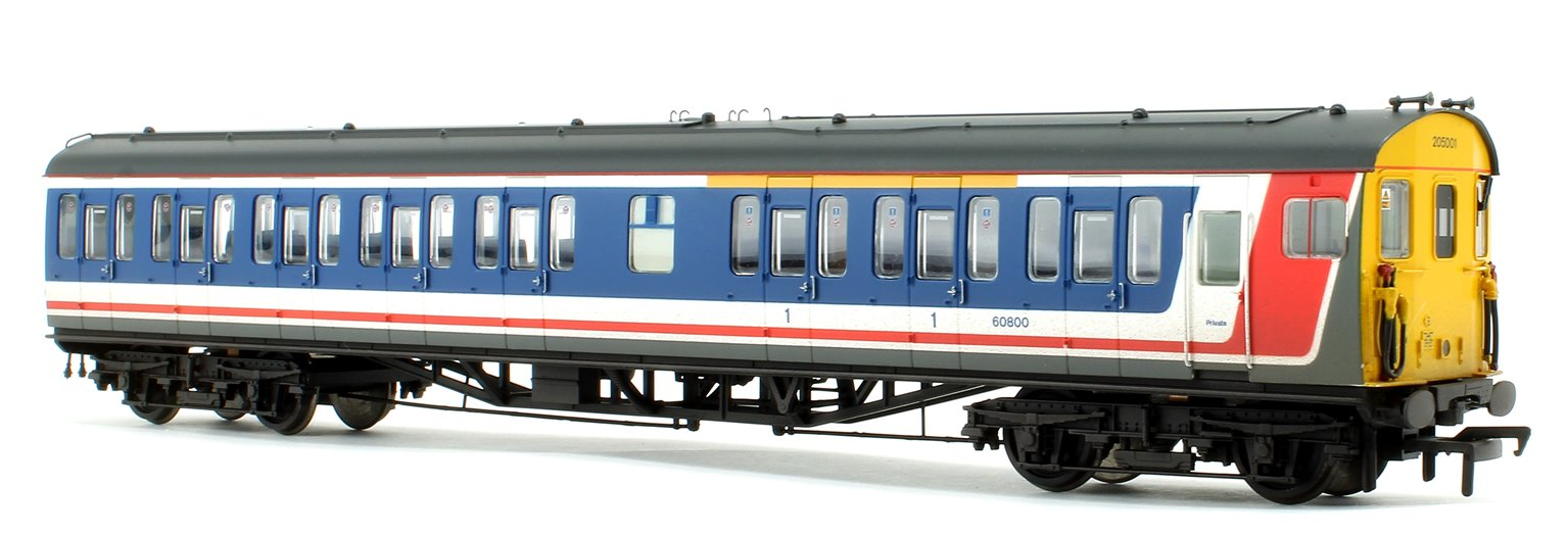Class 205 DEMU 205001 BR Network SouthEast (Revised) - Weathered