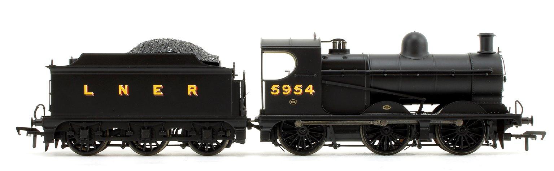 GCR Robinson J11 LNER Black (LNER Original) 0-6-0 Steam Locomotive No.5954