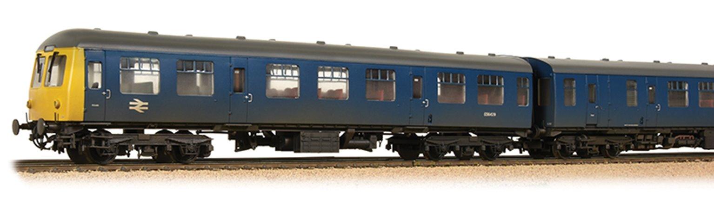 Class 105 BR Blue Weathered 2 Car DMU