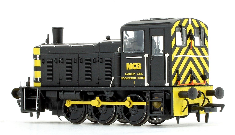 Class 03 - D2199 NCB Black Diesel Shunter Locomotive