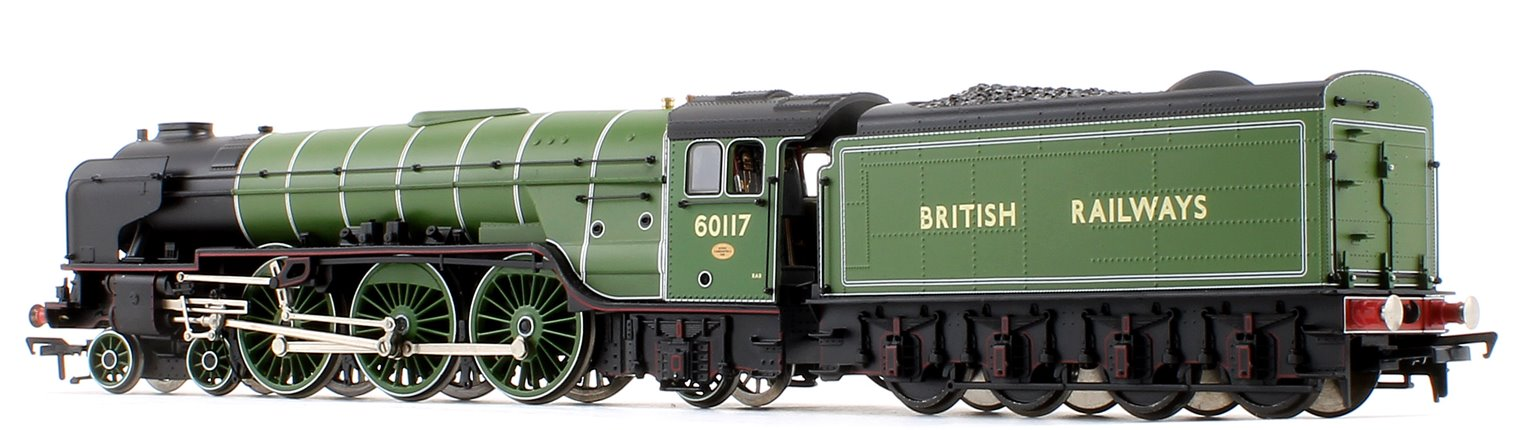 "LNER Class A1 BR (exLNER) Apple Green ""British Railways"" Loco No.60117 with riveted tender"
