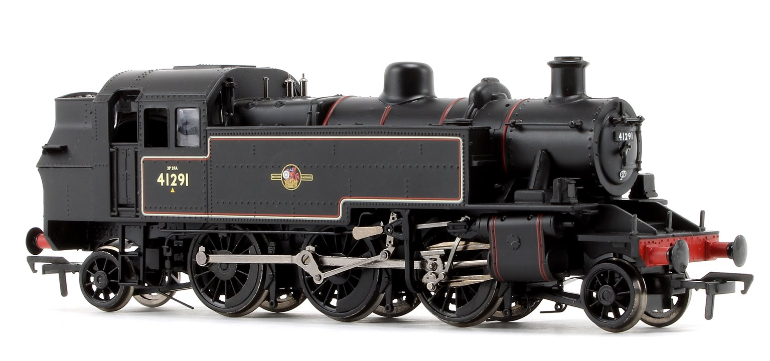 Ivatt Class 2MT 2-6-2 Tank #41291 BR Lined Black Late Crest (DCC On Board)
