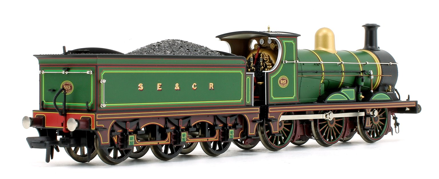 SE&CR C Class No.583 SE&CR Lined Green (Original) 0-6-0 Steam Locomotive