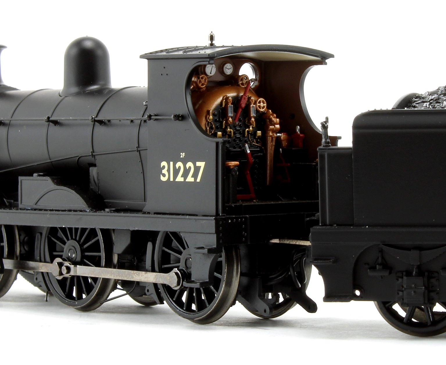 C Class BR Black Early Emblem 0-6-0 Steam Locomotive No.31227