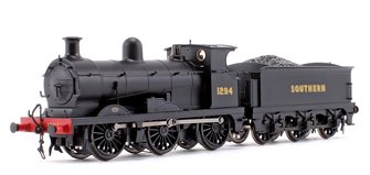 C Class Southern Railway Black 0-6-0 Steam Locomotive No.1294