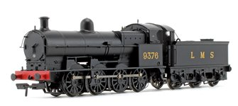 Class G2A LMS Black 0-8-0 Steam Locomotive No.9376