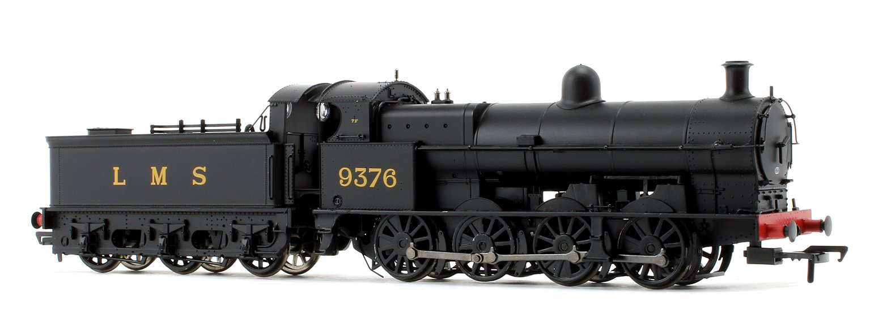Class G2A LMS Black 0-8-0 Steam Locomotive No.9376