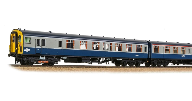 Class 410 4BEP 4 Car EMI 7010 BR Blue / Grey