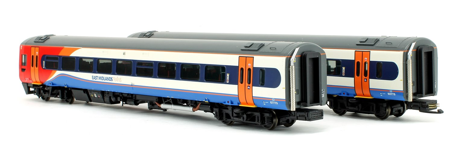 Class 158 2-Car DMU 158773 East Midlands Trains DCC Sound Fitted