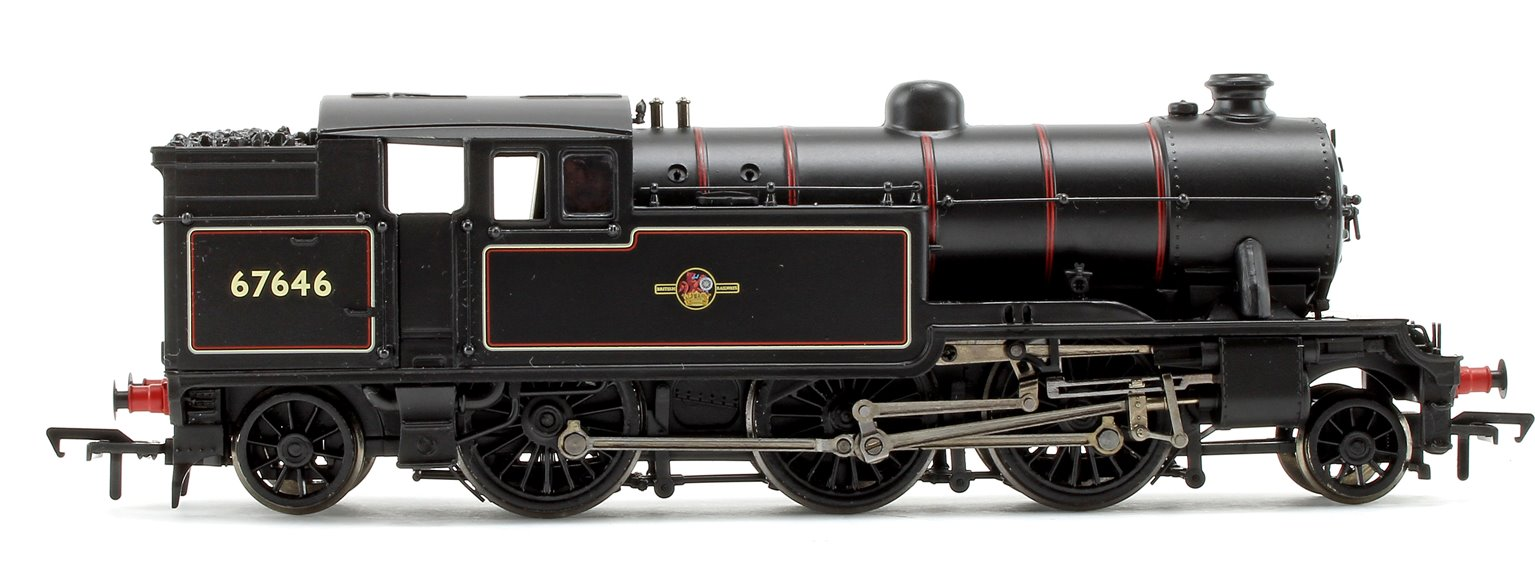 Class V3 Tank #67646 BR Lined Black Late Crest Cranked Pipes