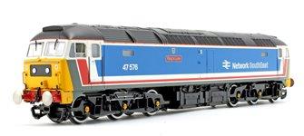 Class 47 576 'King's Lynn' Network SouthEast NSE Diesel Locomotive