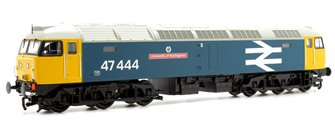 "Class 47/4 47444 ""University of Nottingham"" BR Blue Large Logo Diesel Locomotive"