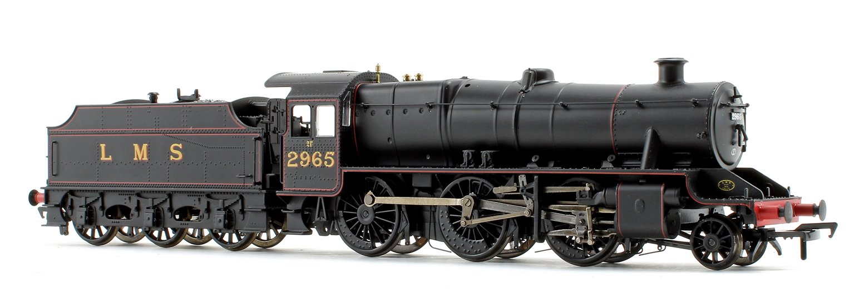 LMS Stanier Mogul Class #2965 LMS Lined Black