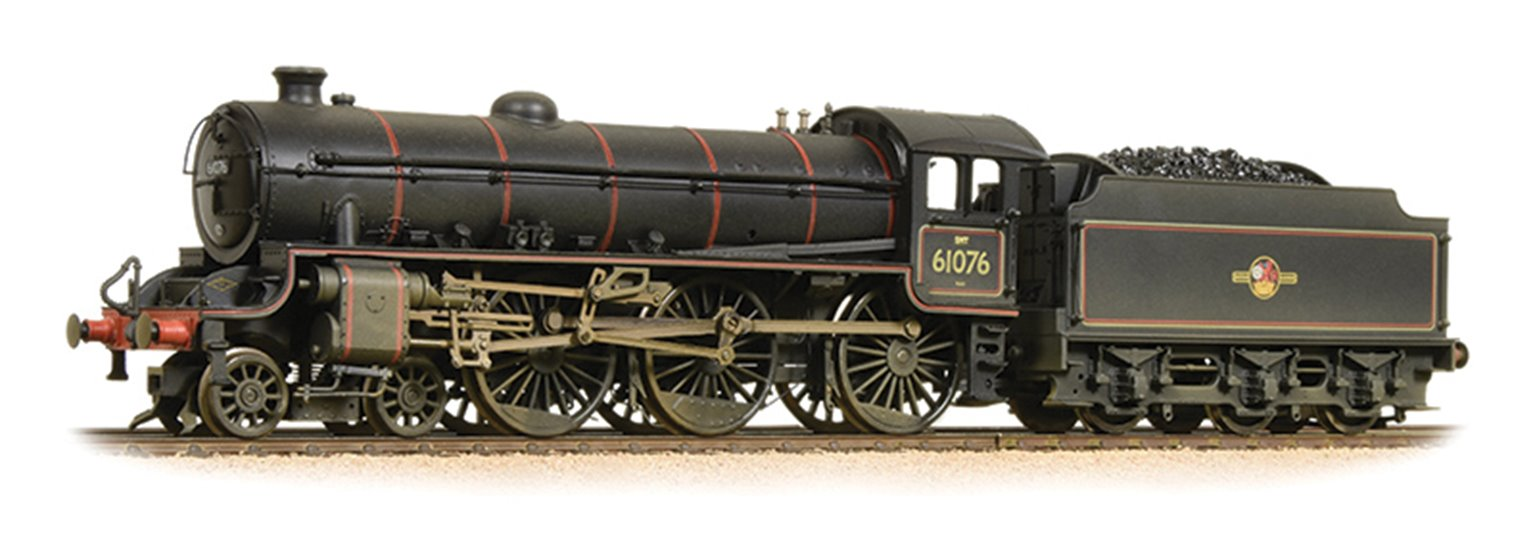 Class B1 61076 BR Lined Black Late Crest - Weathered