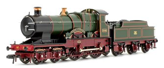 'City of Truro' GWR Monogram City Class 4-4-0 Steam Locomotive No.3440