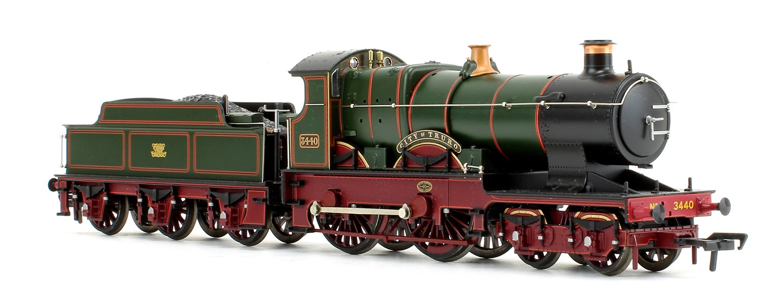 'City of Truro' GWR Monogram City Class 4-4-0 Steam Locomotive No.3440