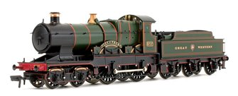 'City of Truro' Great Western Garter Crest City Class 4-4-0 Steam Locomotive No.3717