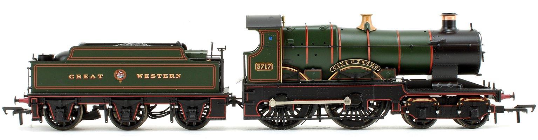 'City of Truro' Great Western Garter Crest City Class 4-4-0 Steam Locomotive No.3717