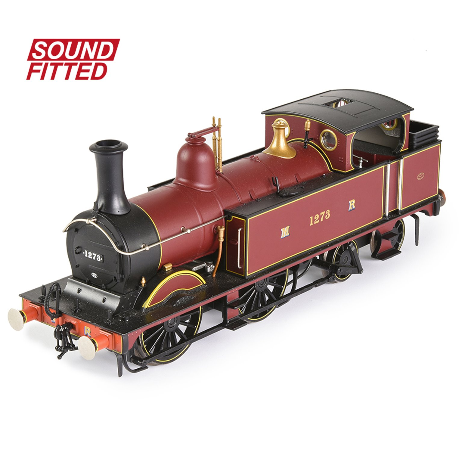MR 1532 (1P) Tank 1273 Midland Railway Crimson Lake DCC Sound