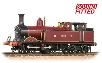Midland Railway 1532 Class Johnson 1P 0-4-4 1273 Midland Railway Crimson Locomotive DCC Sound
