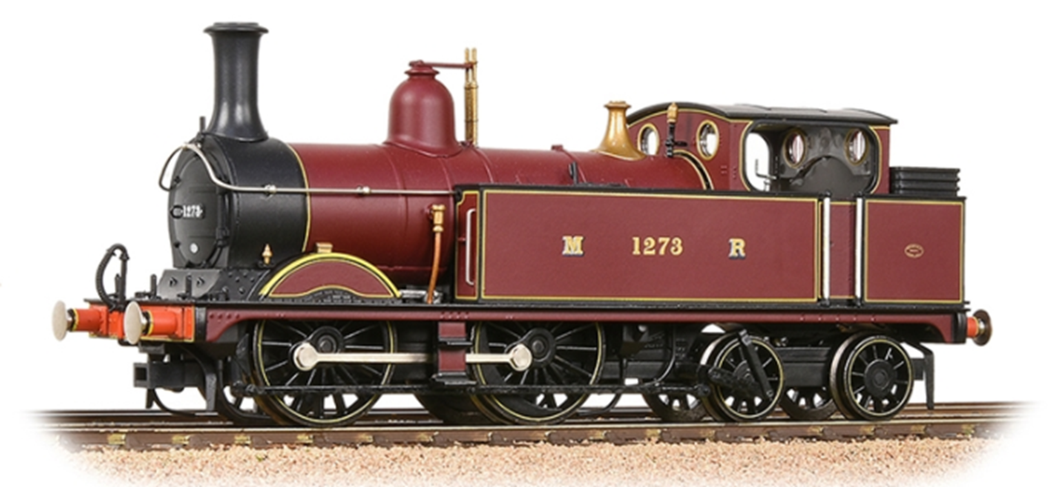 Midland Railway 1532 Class Johnson 1P 0-4-4 1273 Midland Railway Crimson Locomotive