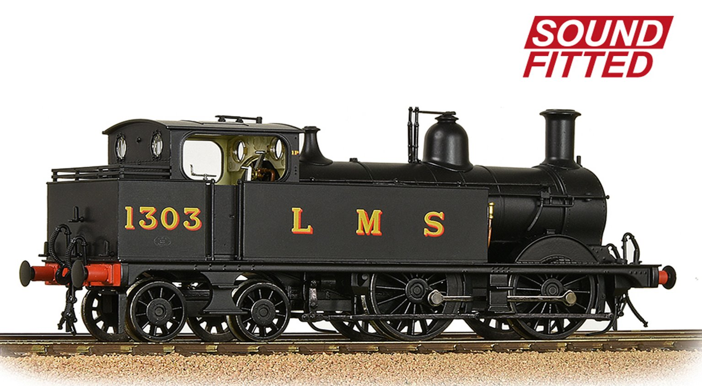 MR 1532 (1P) Tank 1303 LMS Black (Original) DCC Sound