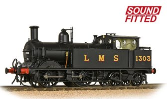 MR 1532 (1P) Tank 1303 LMS Black (Original) DCC Sound