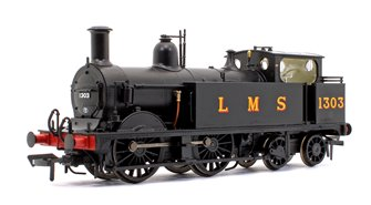 Midland Railway 1532 Class Johnson 1P 0-4-4 1303 LMS Black Locomotive DCC Sound