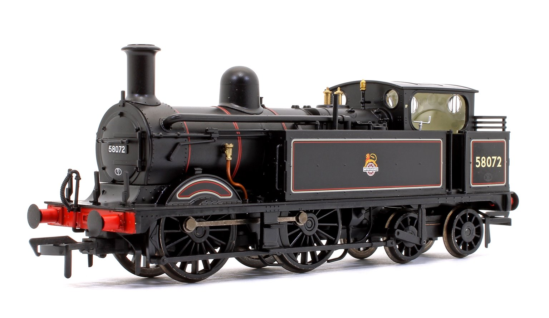 Midland Railway 1532 Class Johnson 1P 0-4-4 58072 BR Lined Black Early Emblem