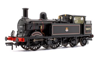 Midland Railway 1532 Class Johnson 1P 0-4-4 58072 BR Lined Black Early Emblem DCC Sound