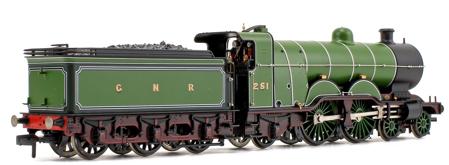 GNR Lined Green GNR Atlantic Class C1 4-4-2 Steam Locomotive #251 (NRM Exclusive)