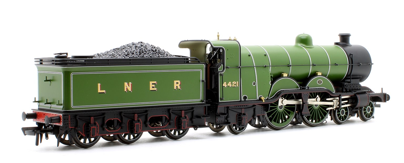 GNR Atlantic Class C1 LNER Lined Green 4-4-2 Steam Locomotive No. 4421