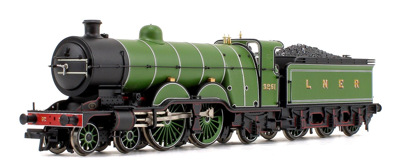 LNER Green GNR Atlantic Class C1 4-4-2 Steam Locomotive #3251 (NRM Exclusive)