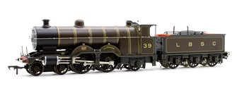 H1 Class Atlantic No. 39 'La France' LBSC Lined Umber 4-4-2 Steam Locomotive