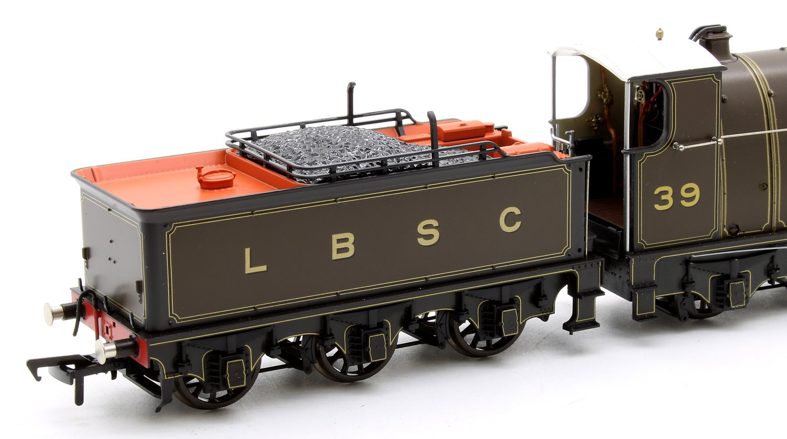 H1 Class Atlantic No  39 'La France' LBSC Lined Umber 4-4-2 Steam Locomotive