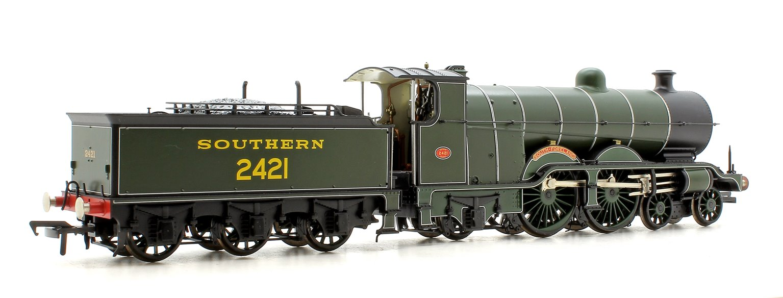 H2 Class Atlantic 4-4-2 2421 'South Foreland' SR Olive Green