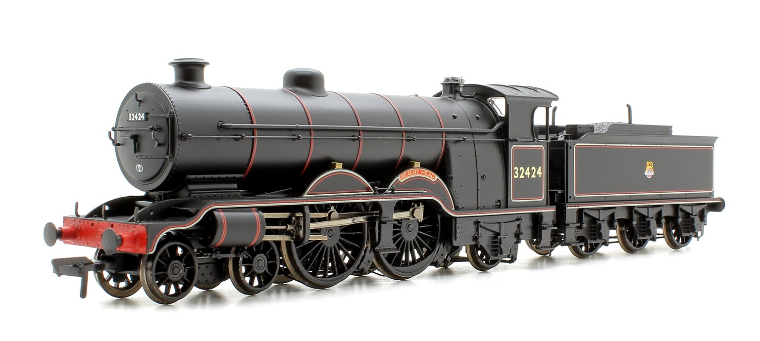 H2 Class Atlantic 4-4-2 32424 'Beachy Head' BR Black Early Emblem