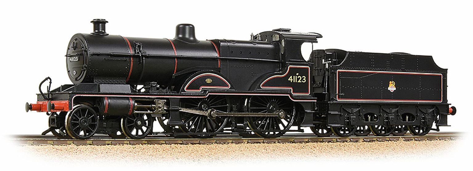 LMS 4P Compound 41123 BR Lined Black (Early Emblem)