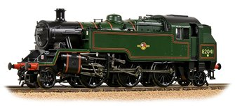 BR Standard 3MT Tank 82041 BR Lined Green (Late Crest)