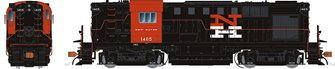 New Haven (McGinnis) Alco RS-11 Diesel Locomotive #1401 (DC Silent)