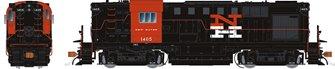 New Haven (McGinnis) Alco RS-11 Diesel Locomotive #1401 (DC Silent)