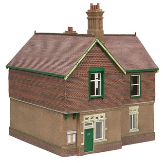 Bluebell Booking Office Green and Cream
