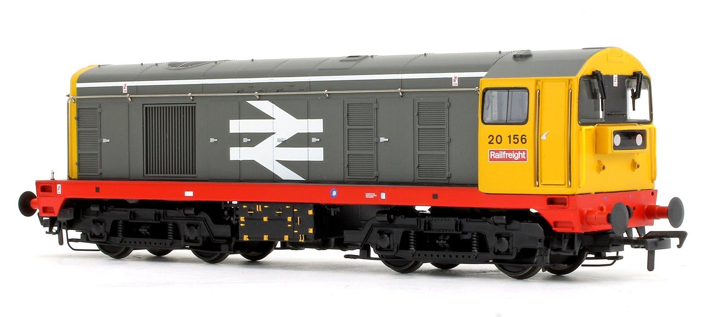 Class 20 156 BR Railfreight Grey Large Logo (Red Solebar) Diesel Locomotive DCC Sound