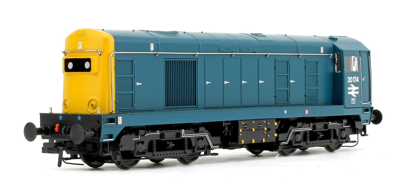 Class 20 174 BR Blue with Domino headcode boxes Diesel Locomotive