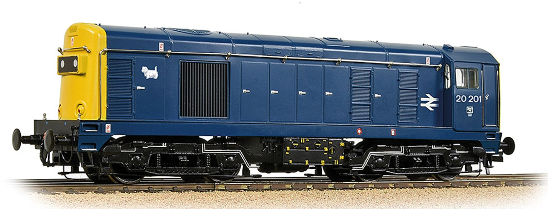 Class 20/0 Headcode Box 20201 BR Blue - DCC Sound