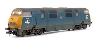 Custom Weathered Class 43 Warship 'Powerful' BR Blue Diesel Locomotive D836